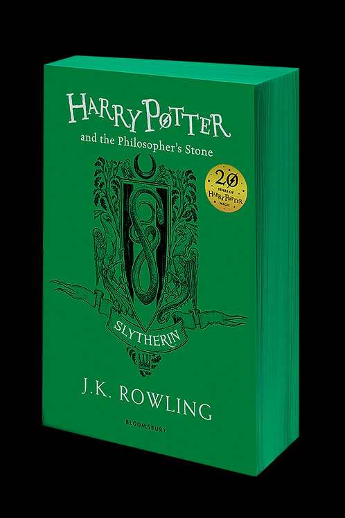 Harry Potter and the Philosopher's Stone - Slytherin Edition Paperback