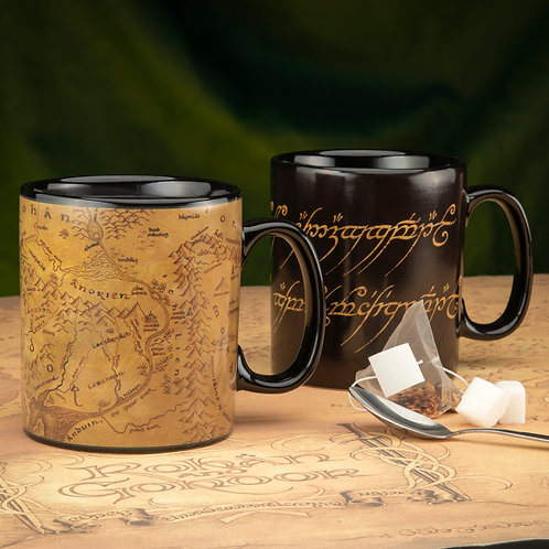 Lord of the Rings XL Heat Change Mug