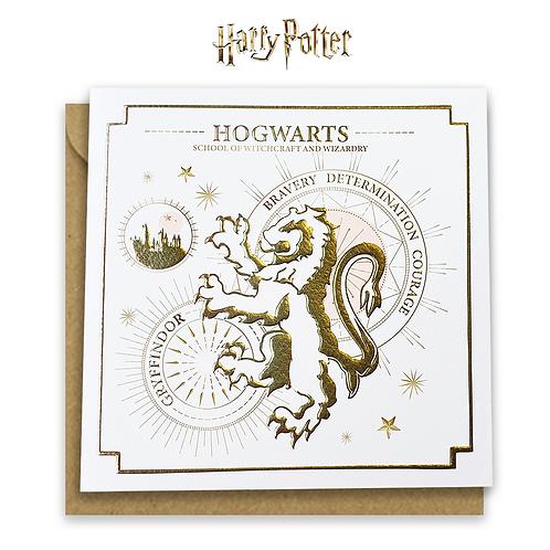 Harry Potter Gryffindor Yule Ball Card