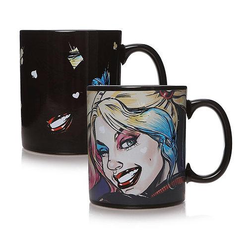 Harley Quinn Heat Change Mug