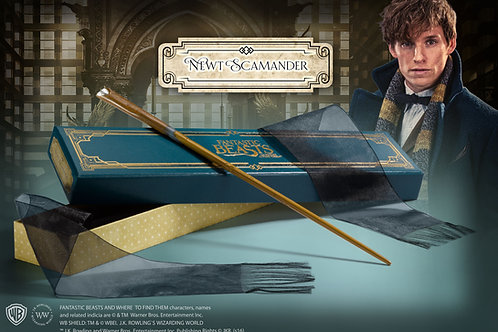 Newt Scamander Wand in Collector's Box