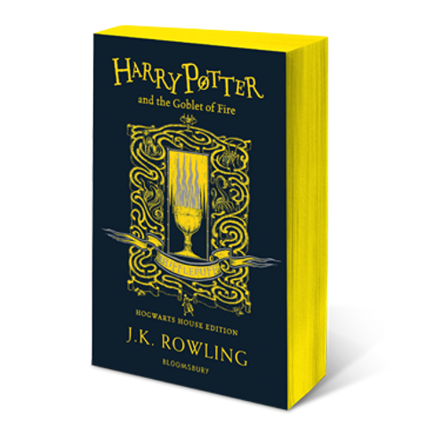 Harry Potter and the Goblet of Fire - Hufflepuff Edition Paperback