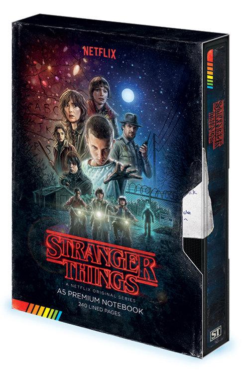 Stranger Things Premium Notebook (VHS)