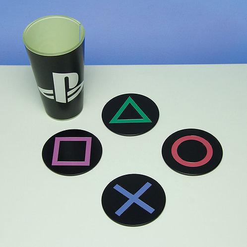 PlayStation Metal Coasters
