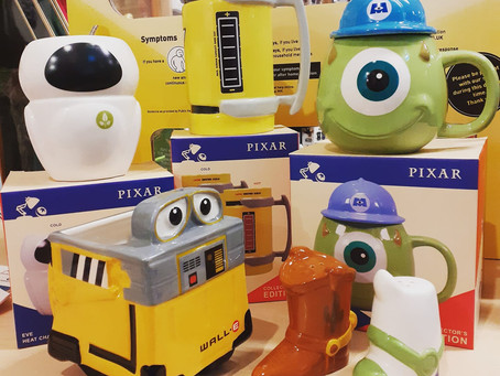 On The Eighth Week Of Christmas, The Geek Side Gave To Me... Pixar!
