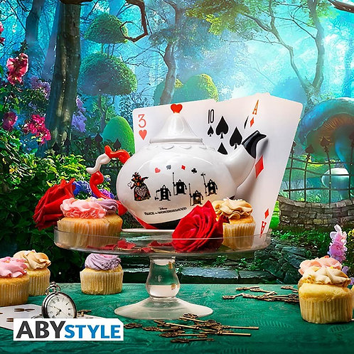 Disney Alice In Wonderland Queen Of Hearts Teapot