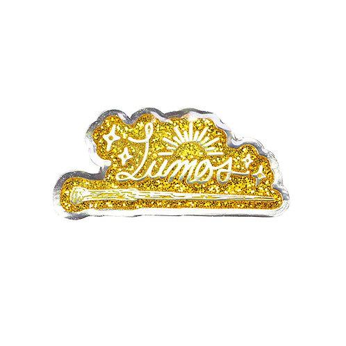 Harry Potter Pin Badge (Lumos)