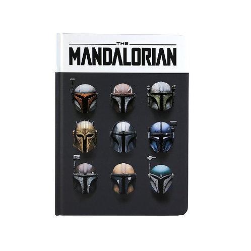The Mandalorian Notebook (Helmets)