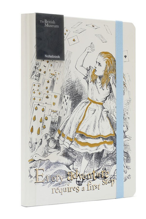 Alice In Wonderland A5 Notebook