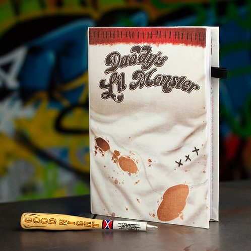 Harley Quinn Notebook And Baseball Bat Pen