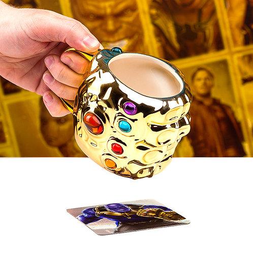 Marvel Infinity Gauntlet Shaped Mug