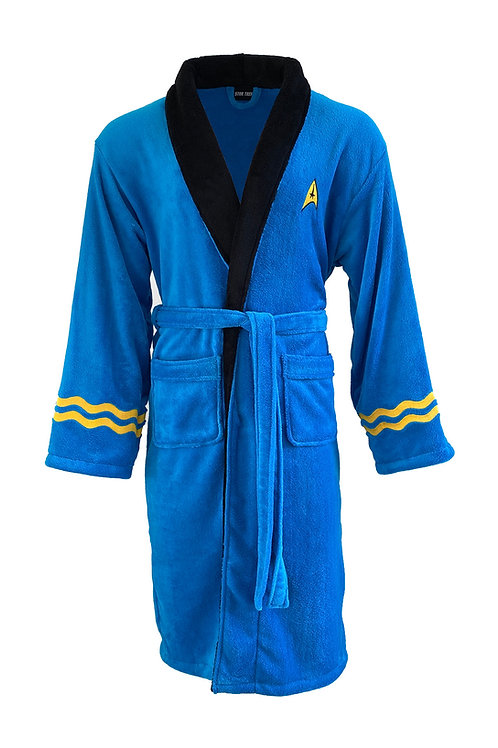 Star Trek Blue Spock Original Bathrobe