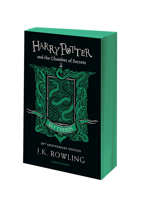 Harry Potter and the Chamber of Secrets - Slytherin Edition Paperback