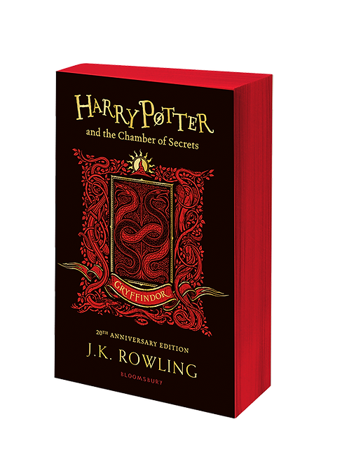 Harry Potter and the Chamber of Secrets - Gryffindor Edition Paperback