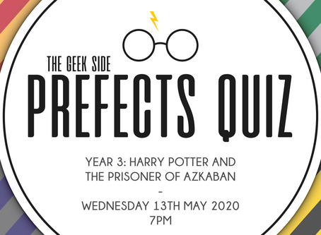 Harry Potter Prefects Quiz - Year 3: The Prisoner of Azkaban