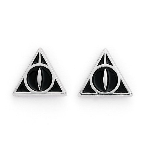 Harry Potter Deathly Hallows Stud Earrings