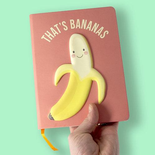 Puff Notebooks - Banana