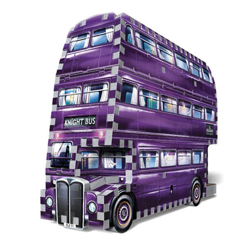 Harry Potter The Knight Bus Wrebbit 3D Puzzle