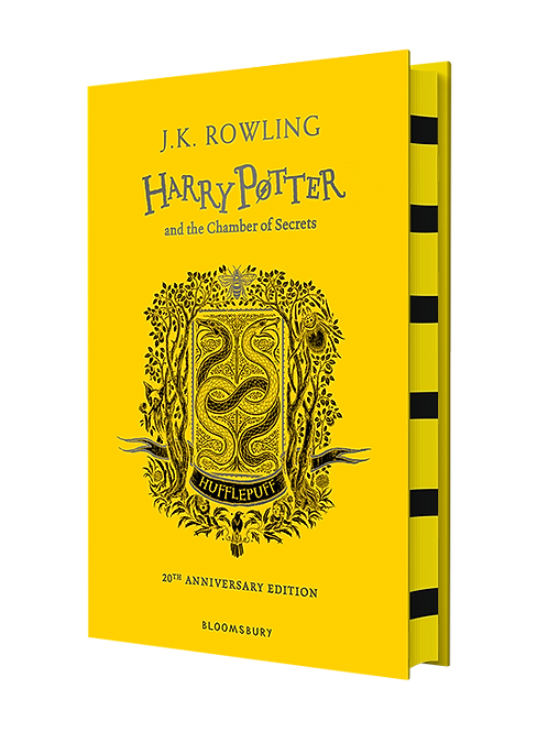 Harry Potter and the Chamber of Secrets - Hufflepuff Edition Hardback