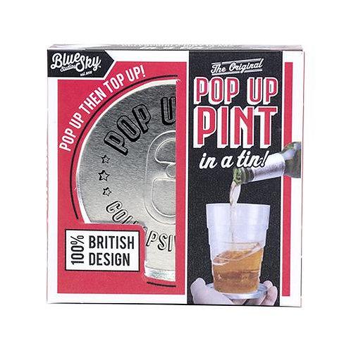 Pop Up Pint Tin