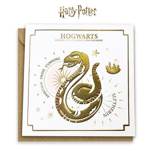 Harry Potter Slytherin Yule Ball Card