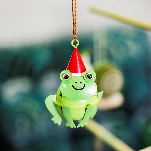 Frog Hanging Bell Decoration