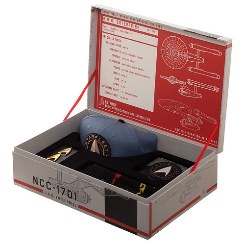 Star Trek USS Enterprise NCC-1701 Premium Gift Box Set