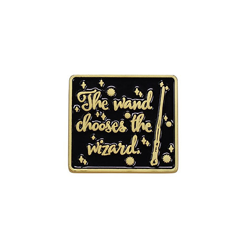 Harry Potter Pin Badge (Wand Chooses the Wizard)