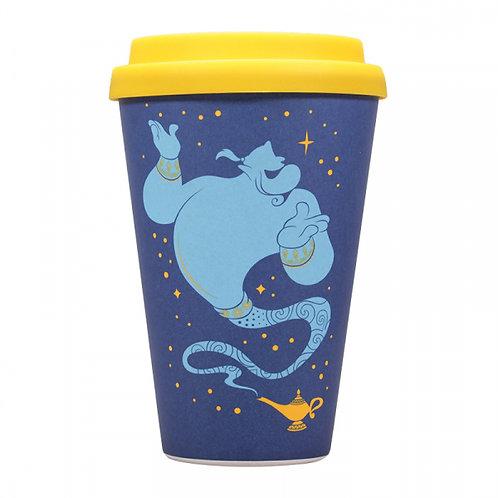 Disney Aladdin Bamboo Travel Mug - Genie