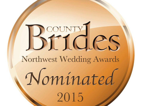 County Brides Wedding Supplier Award 2015 Nominee!