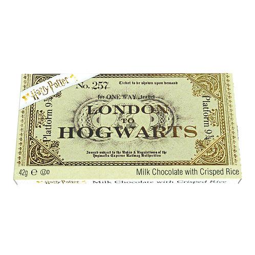 Harry Potter Chocolate Hogwarts Train Ticket
