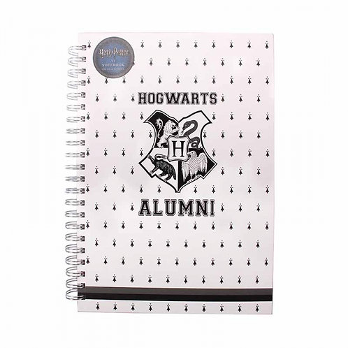 Harry Potter Varsity A4 Wiro Notebook (Hogwarts Alumni)