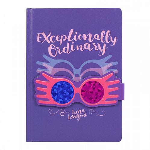 Harry Potter A5 Notebook - Luna Lovegood