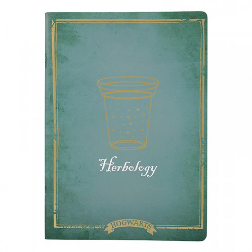Harry Potter Exercise Book - Herbology