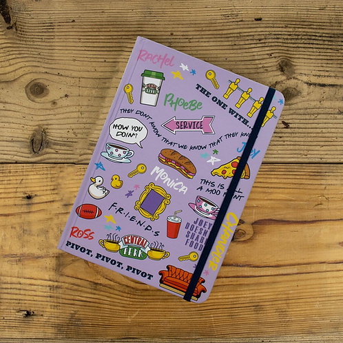 Friends A5 Casebound Notebook