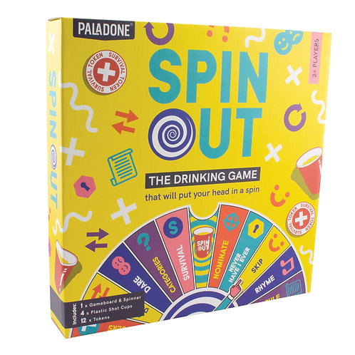 Spin Out Drinking Game