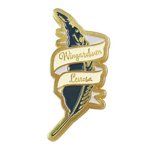 Harry Potter Pin Badge (Wingardium Leviosa)