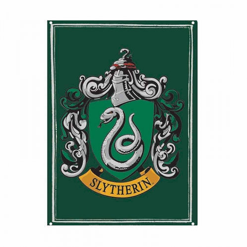 Harry Potter Small Tin Sign - Slytherin