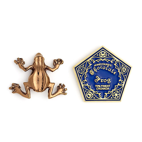 Harry Potter Chocolate Frog Pin Badge Set