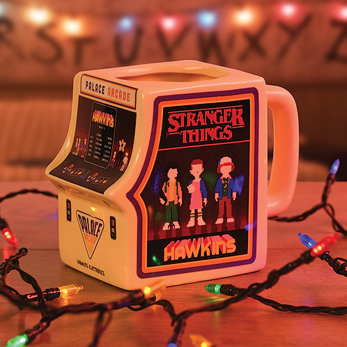 Stranger Things (Arcade Machine) Shaped Mug