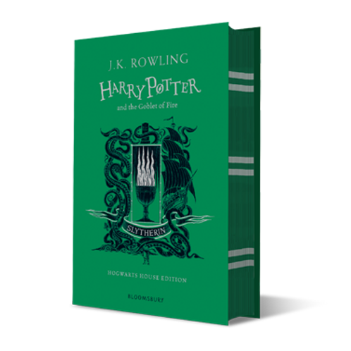 Harry Potter and the Goblet of Fire - Slytherin Edition Hardback