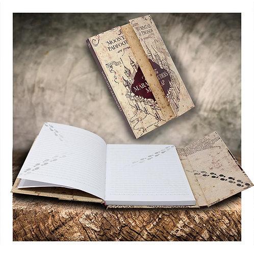 Harry Potter Marauderd Map Fold-out Notebook
