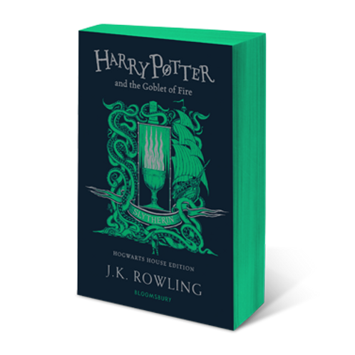 Harry Potter and the Goblet of Fire - Slytherin Edition Paperback