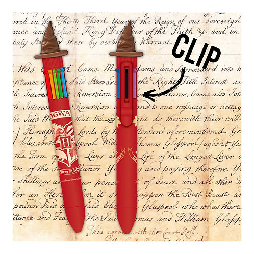 Harry Potter Sorting Hat 8 Colour Pen