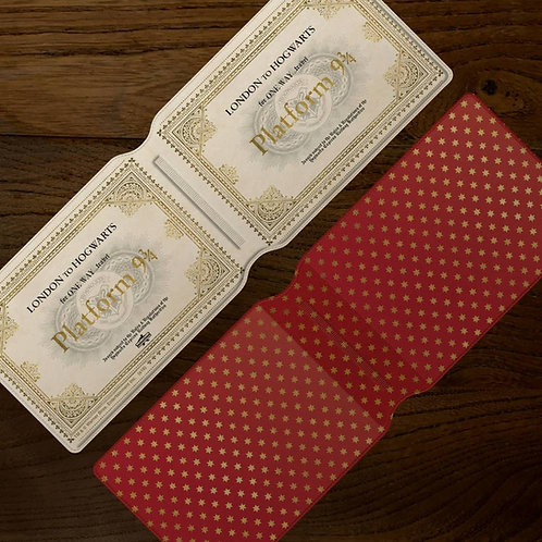 Harry Potter Hogwarts Express Ticket Card Holder