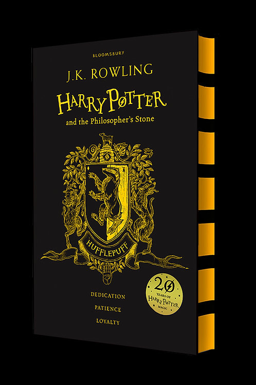 Harry Potter and the Philosopher's Stone - Hufflepuff Edition Hardback