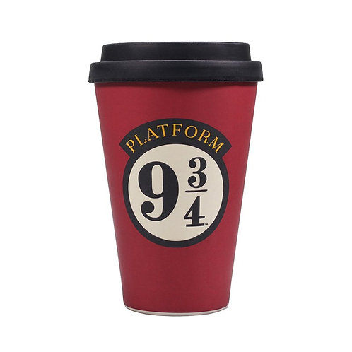 Harry Potter Bamboo Travel Mug (Platform 9 3/4)