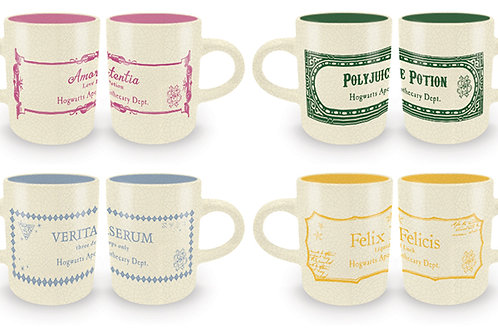 Harry Potter Espresso Mug Set - Potions Collection