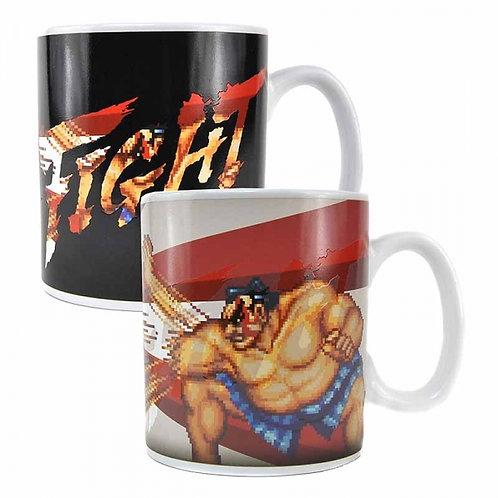 Street Fighter Heat Changing Mug (E Honda)