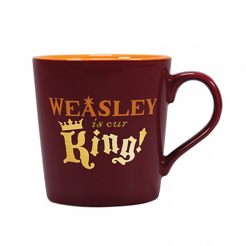 Harry Potter Tapered Mug - Weasley Is Our King!